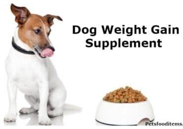 Dog Weight Gain Supplement